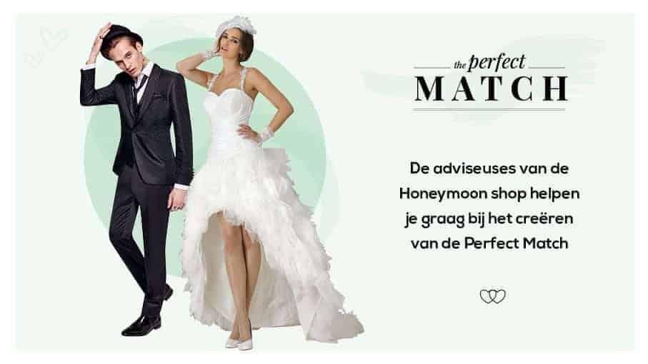 perfect match bruid en bruidegom