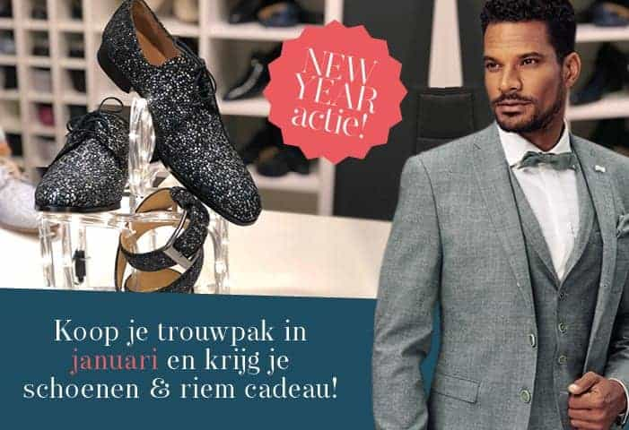 Honeymoon shop trouwpakken actie