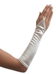 Handschoenen Vingerloze Satijn 3016