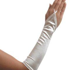 Vingerloze Satijnen Handschoen 3016