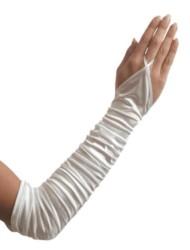 Vingerloze Satijnen Handschoen 3020