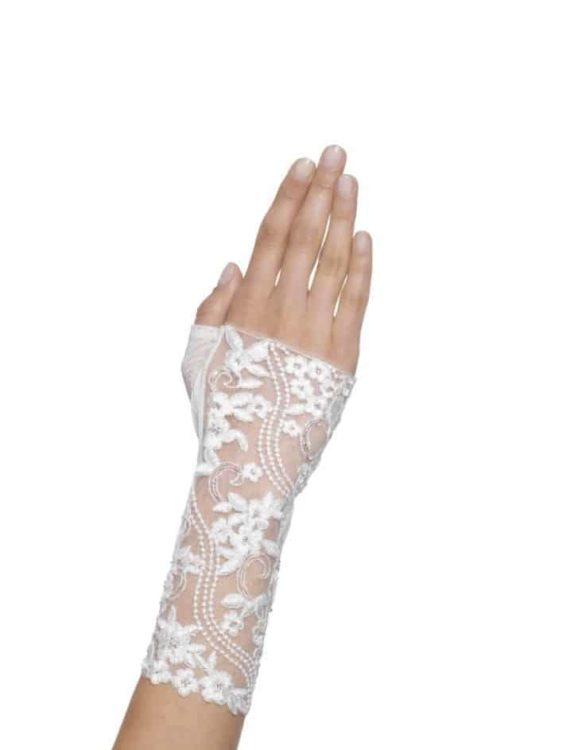 Geborduurde Handschoen 7470