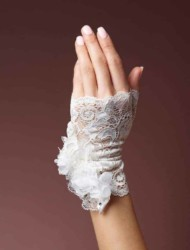 Vingerloze Kanten Handschoen 7510