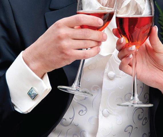 bruidegom accessoires knop
