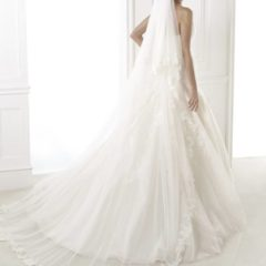 Trouwjurk Bilyana Pronovias back