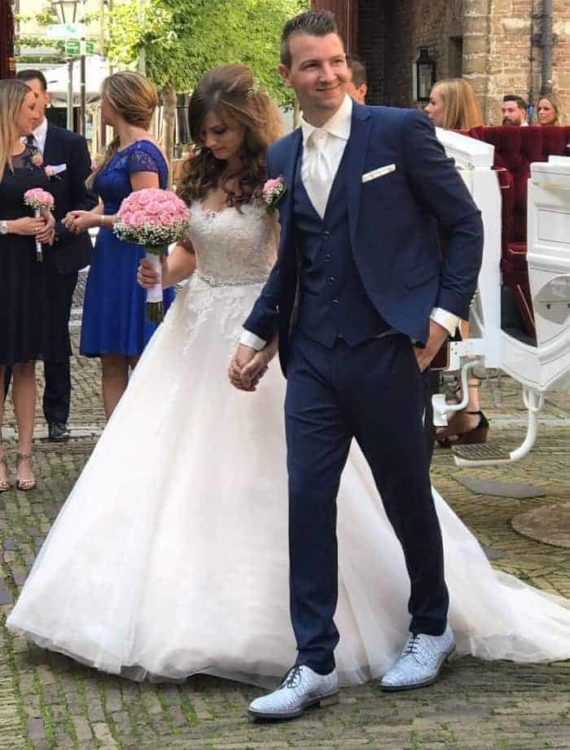 Bruiloft Eline en Bas