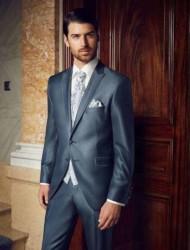 Trouwkostuum Prestige blauw grijs Wilvorst
