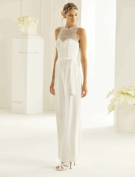 Jumpsuit Samanta Bianco Evento