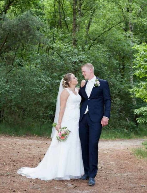 Bruiloft Amber en Jan