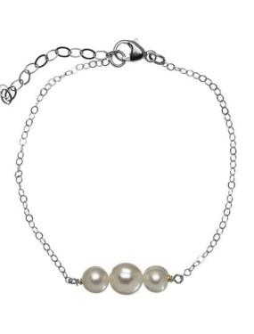Armband Bar Silver van DRKS VB05