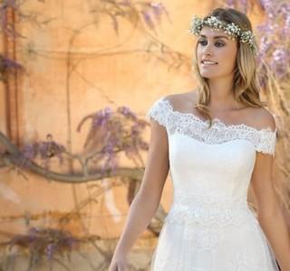 bruidsjurk halslijnen