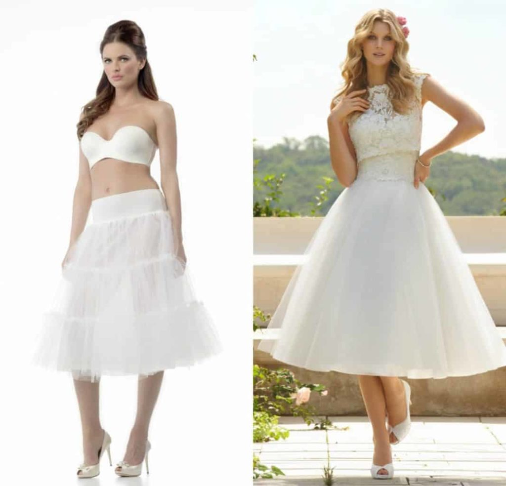 petticoat bruid