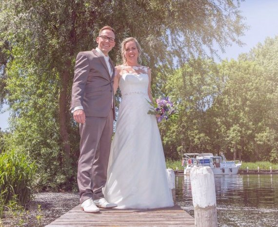 Bruiloft van Kelly en Wesley