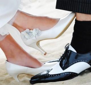 kleur schoenen bij je trouwpak