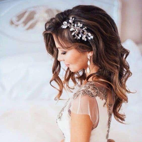 Bruidskapsel los haar 12