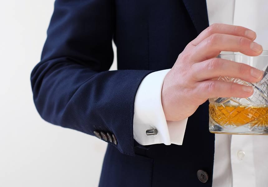 Manchetknopen trouwpak accessoire heren Honeymoon shop