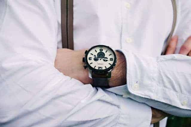 horloge heren trouwpak accessoire Honeymoon shop