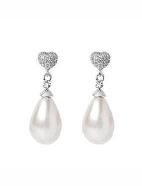 Oorbellen 00771 zilver van Viva Bridal