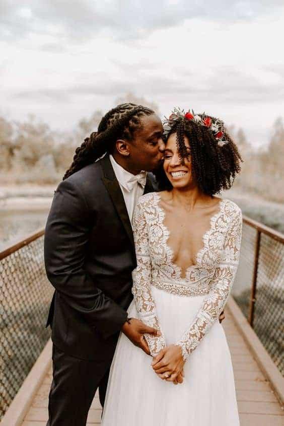 Bruidskapsel los haar 7