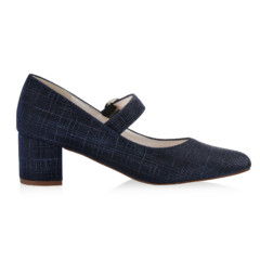 Annemarie Navy Metallic 2