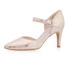 Christelle Champagne Gold (Suede) 1