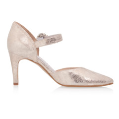 Christelle Champagne Gold (Suede) 2