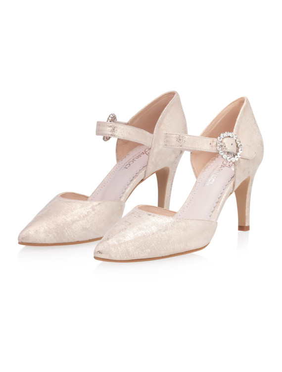 Christelle Champagne Gold (Suede) 6