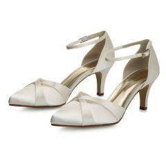 Coconut Ice Ivory Satin 6