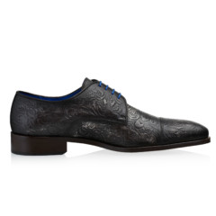 Dwight Grey Floral Calf Leather 2