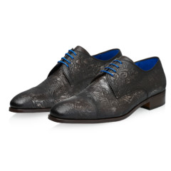 Dwight Grey Floral Calf Leather 6