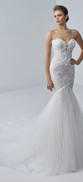 Trouwjurk Angélique van Beautiful by Enzoani kopen bij Honeymoonshop 2