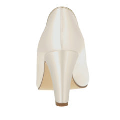 Hailey Ivory Satin-Gold Piping 4