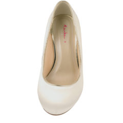 Hailey Ivory Satin-Gold Piping 5