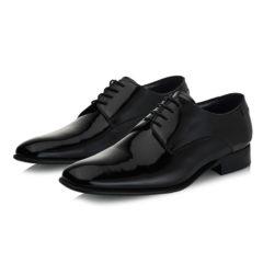 James Black Patent Leather 6