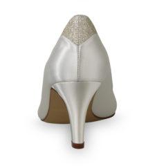 Jara Ivory Satin-Silver Fine Glitter 5