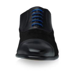 Jarno Black Calf Leather-Suede 3