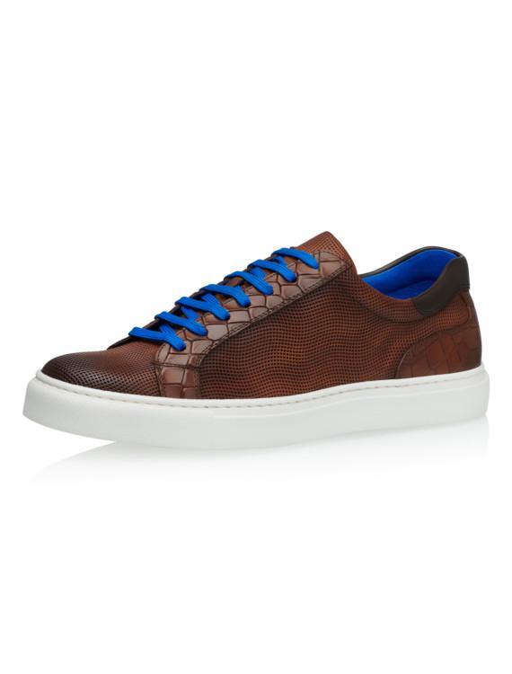 Jesper Castano Grid Calf Leather 1