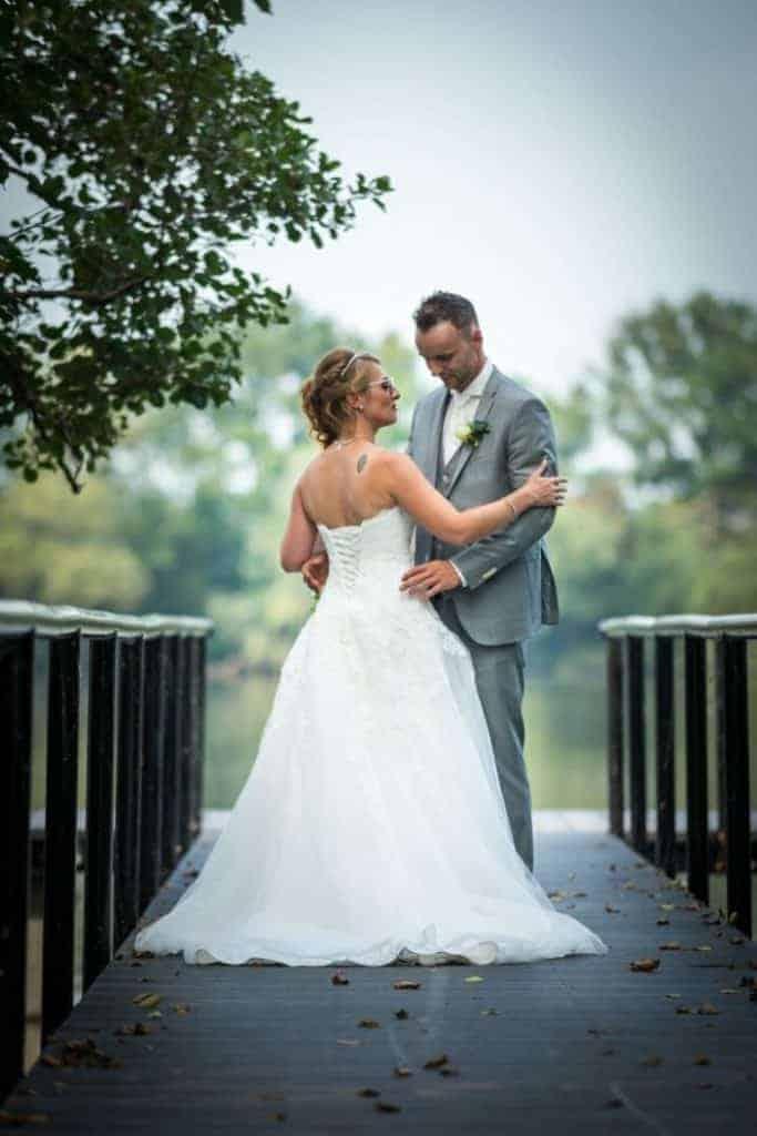 Bruiloft Kelly en Cuno