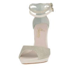 Noralie Silver Fine Glitter-Perle Leather 3