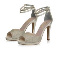 Noralie Silver Fine Glitter-Perle Leather 6