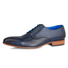 Oscar Dark Blue Calf Leather 1