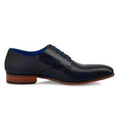 Oscar Dark Blue Calf Leather 2