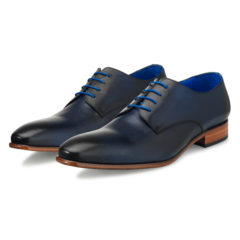 Oscar Dark Blue Calf Leather 6