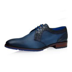 Patrik Jeans Grid Calf Leather 1