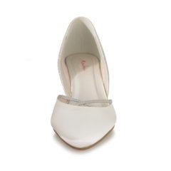 Teddie Ivory Satin Silver Fine Glitter 3