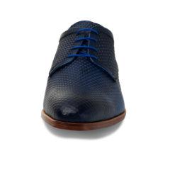 Xavier Dark Blue Texas Calf Leather 3