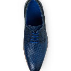 Xavier Dark Blue Texas Calf Leather 4