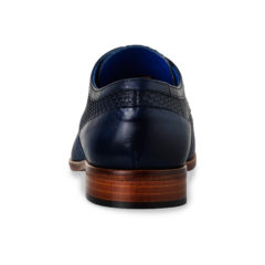 Xavier Dark Blue Texas Calf Leather 5