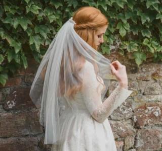 sluier bij trouwjurk