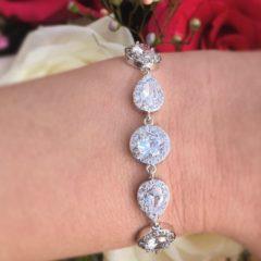 zilveren-armband-kristal-rond-en-druppel